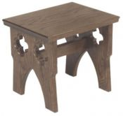 Solid Oak Server Stool 1130