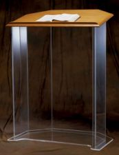 Acrylic Pulpit 3350W