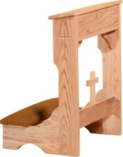 Prie Dieu w/Shelf 2122