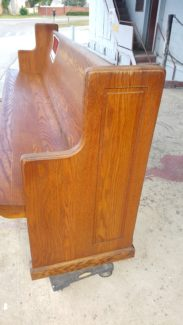 Vintage Church Pew – Rectangle